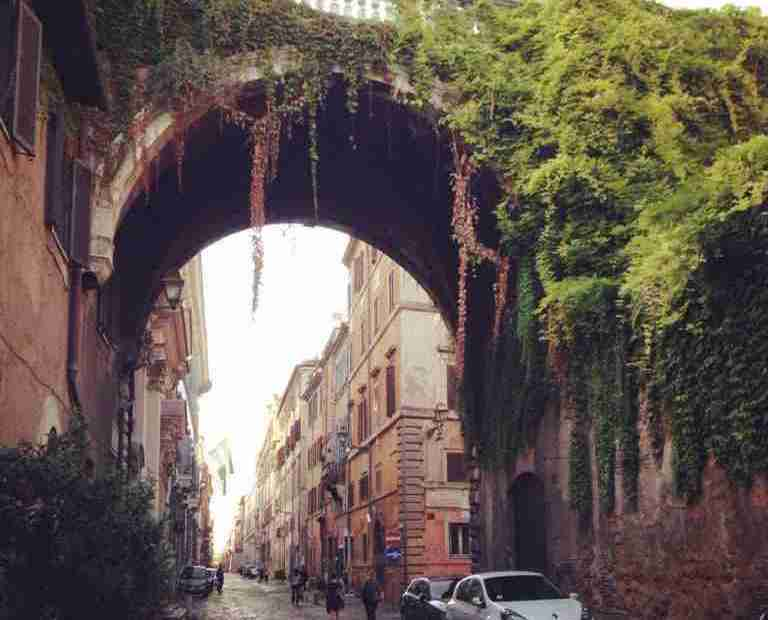 Archway on the Via Giulia