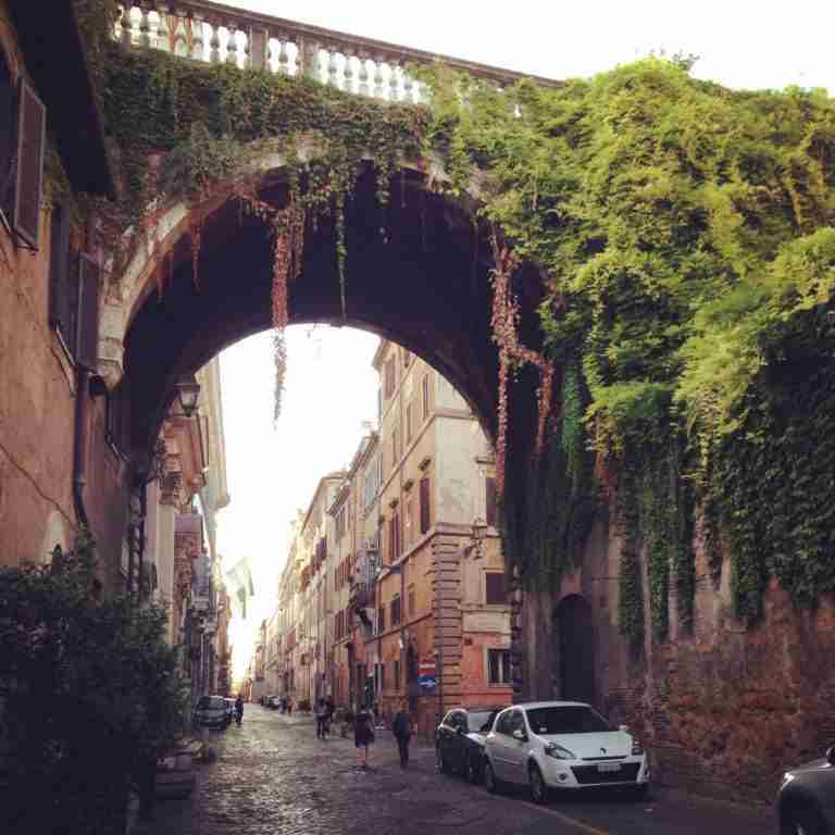Archway on the Via Giulia