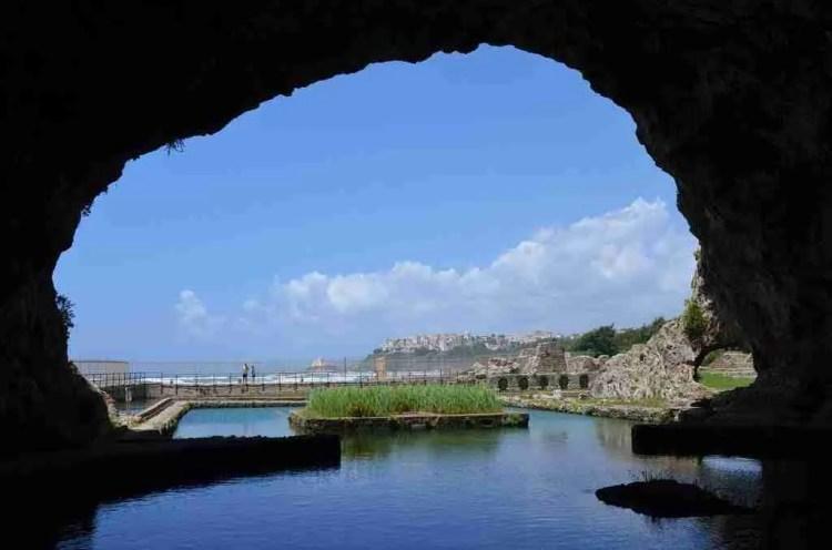 Grotto at the Villa of Tiberius in Sperlonga