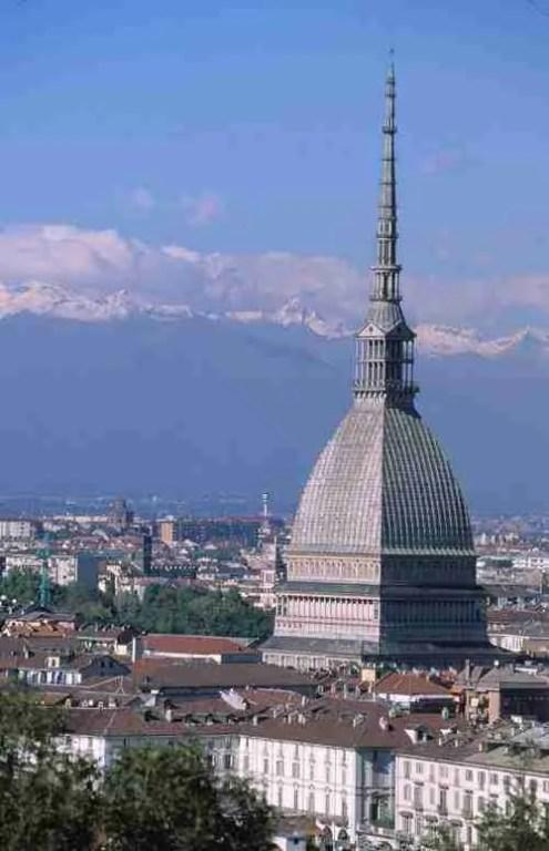 Mole Antonellina in Turin, Italy