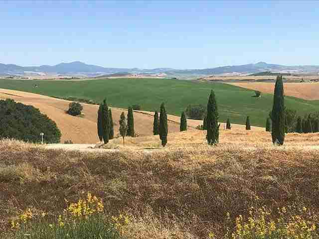 The Iconic Landscape of Val d'Orcia, Tuscany
