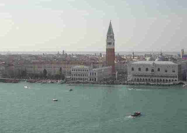 Venice - View of San Marco from San Giorgio Maggiore
