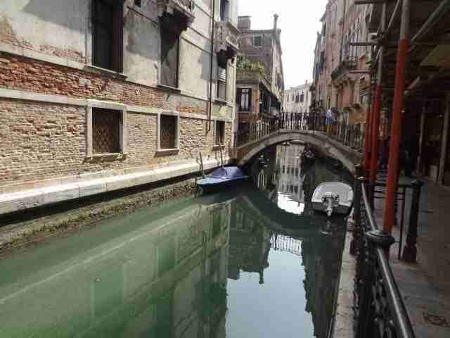 On Being Lost in Italy