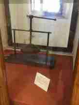 Torture implements in the Fortress of San Leo - a skull crusher