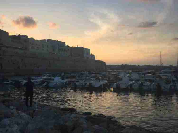 Otranto harbor
