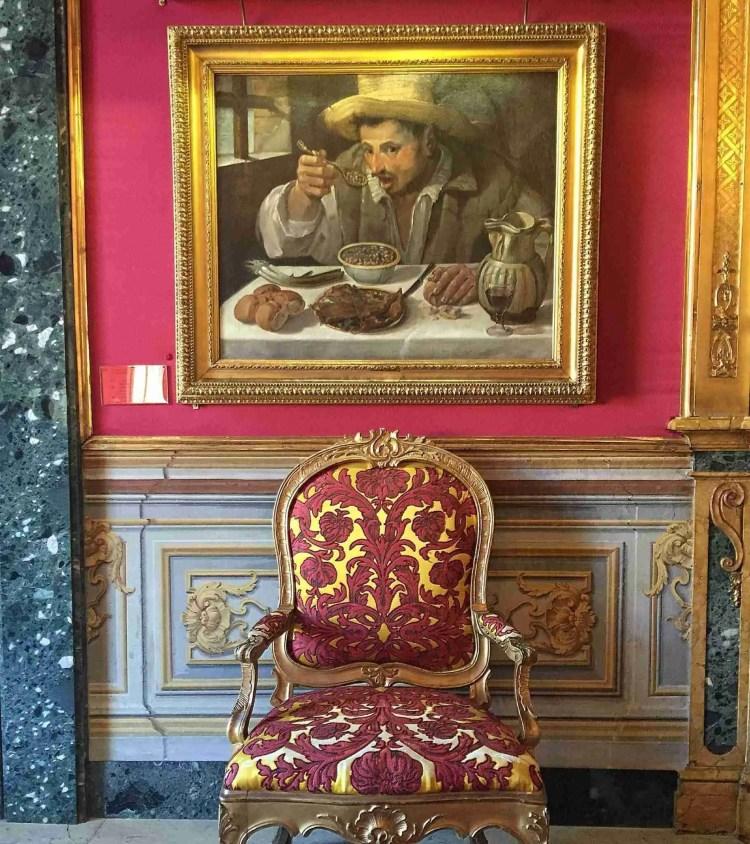 Carracci's The Bean Eater (Il Mangiafagioli)