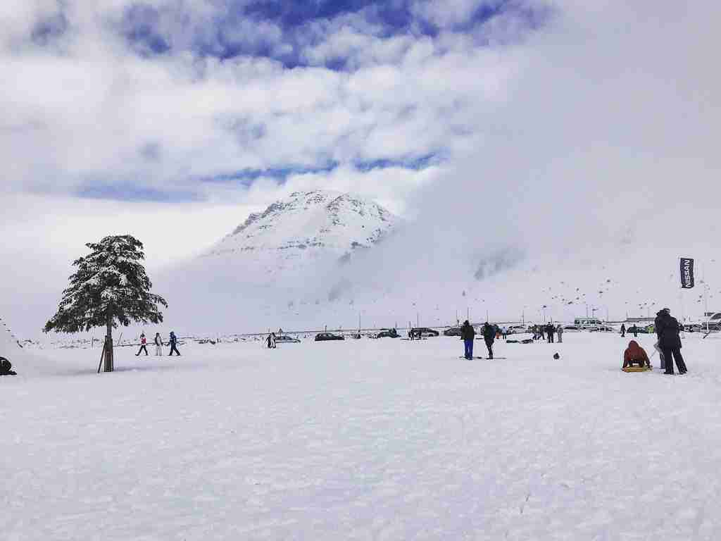 Campo Felice: Skiing and Sledding in Abruzzo