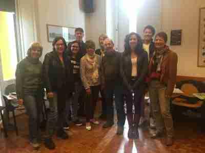 Classmates at Torre di Babele