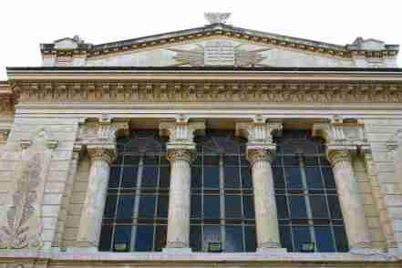 Exterior of the Great Synagogue of Rome