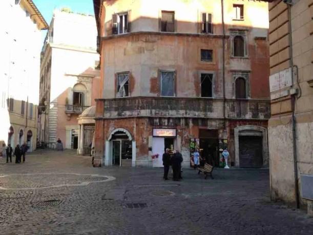 Piazza delle Cinque Scole with Boccione (Kosher Cakes)