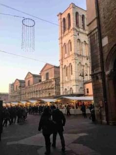 Ferrara Duomo and Piazza Trento e Trieste