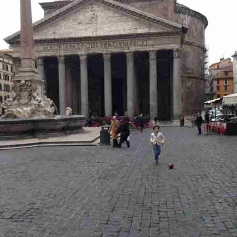 The Pantheon On Pentecost Sunday