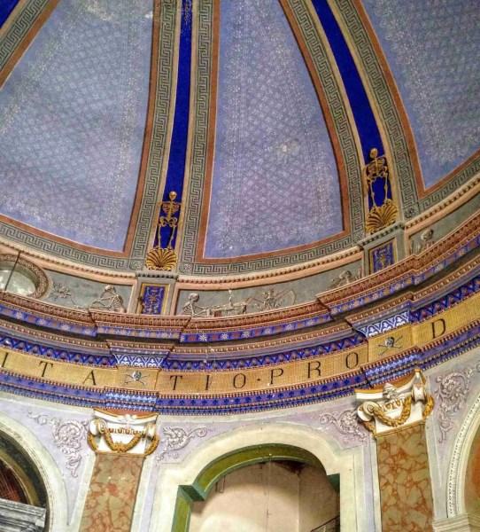 Inside the Church of Purgatorio, Terracina