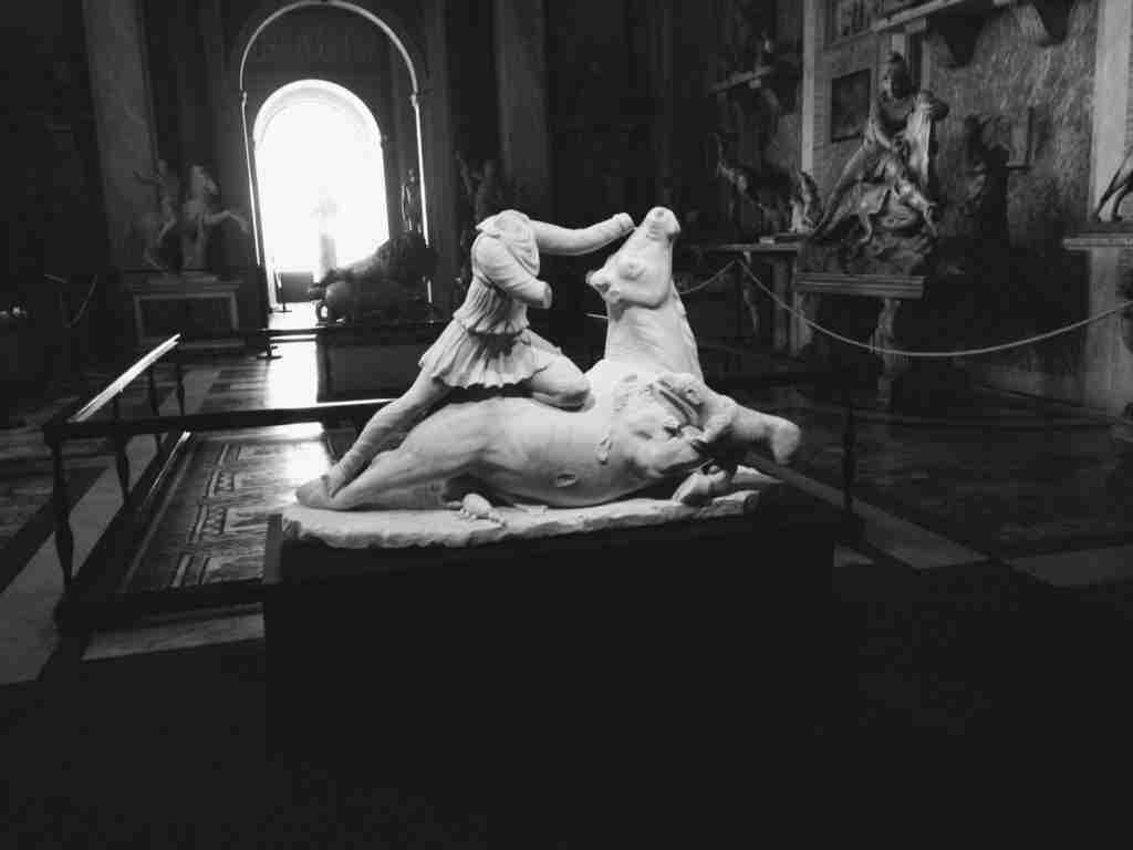 Photo of the Day: Mithras in the Vatican