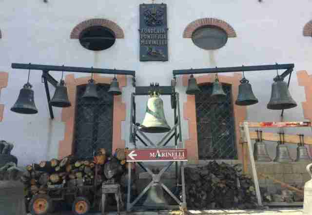Marinelli Bell Foundry in Agnone, Molise