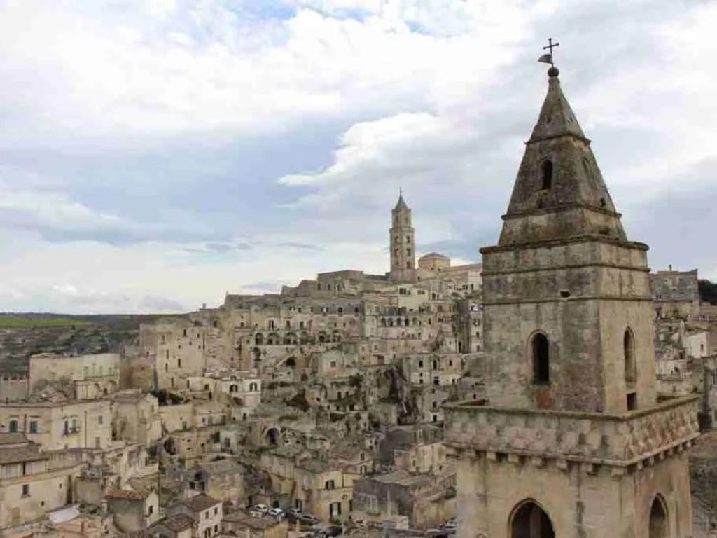 Cityscape of Matera, Basilicata