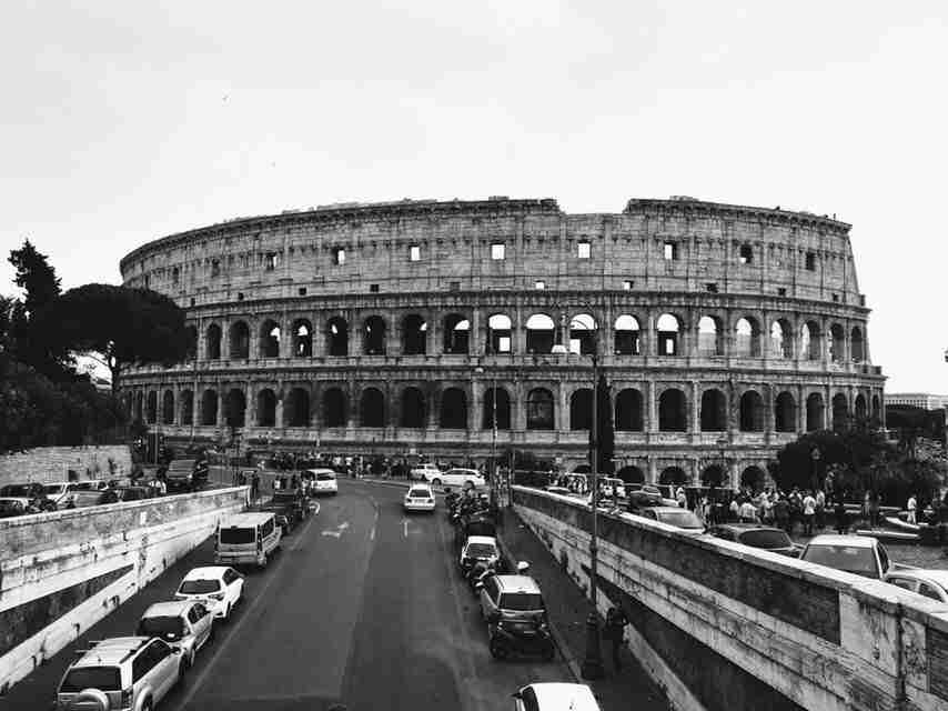 The Coolest View of the Colosseum