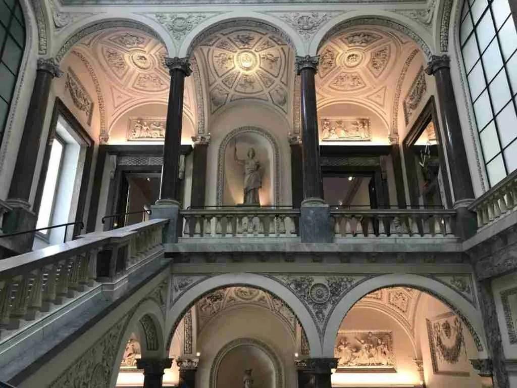 Inside the Museo di Roma at Palazzo Braschi