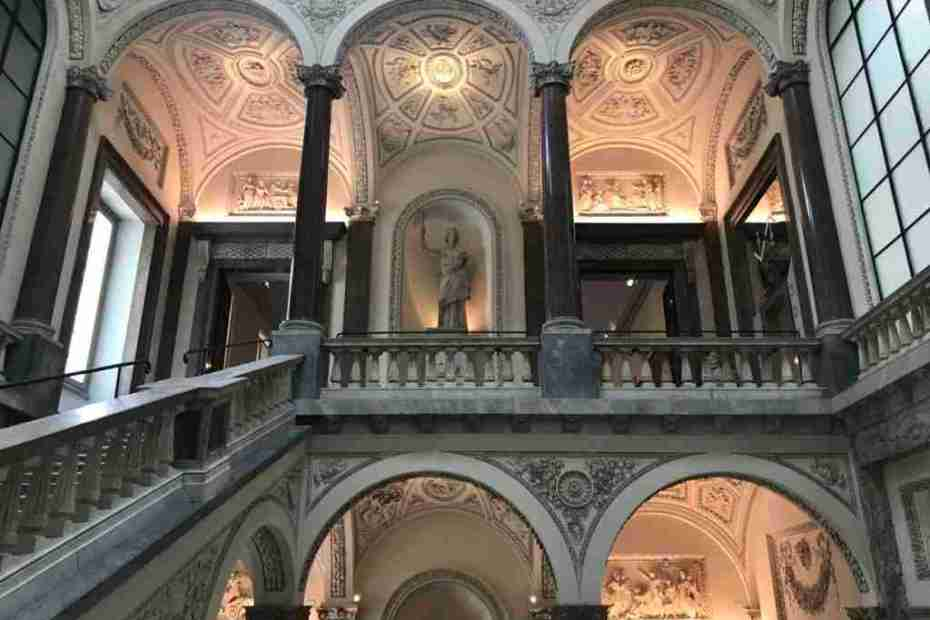 Inside the Museo di Roma at Palazzo Braschi
