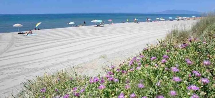 Beach in Montalto di Castro, Lazio