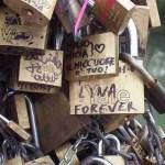 Love Locks on Rome's Ponte Milvio