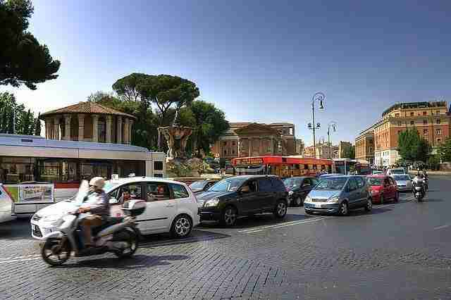 Some Suggestions for Driving in Italy