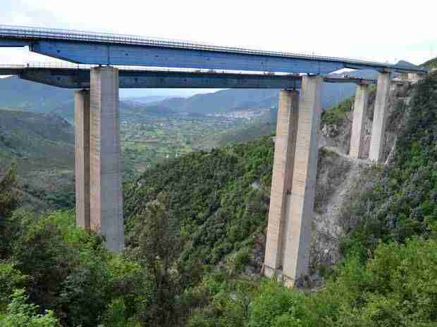 Italy's A3 Autostrada Near Completion 50 Years After Project Began