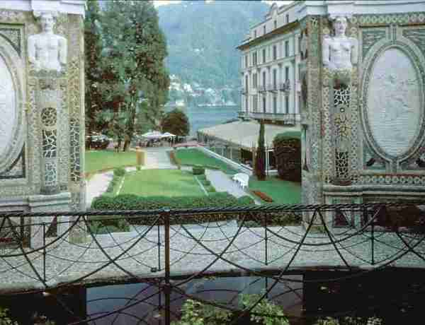 Villa d'Este at Lake Como in Lombardy