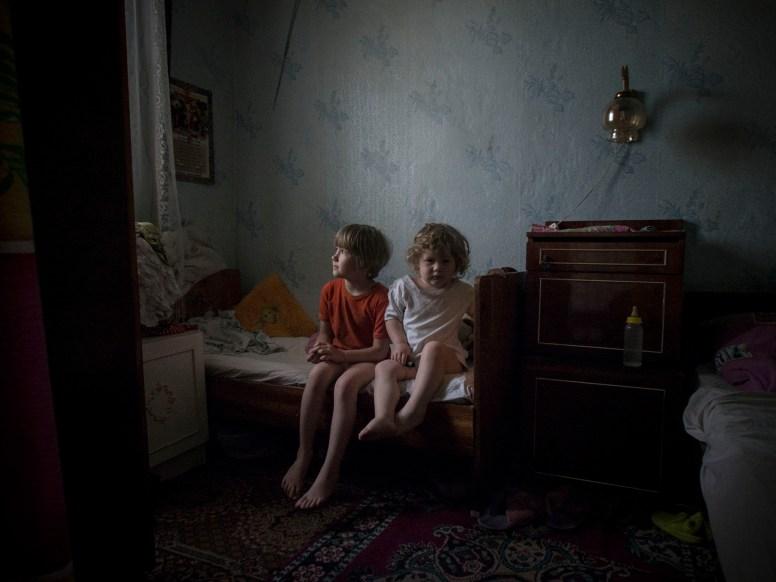The siege of Sloviansk