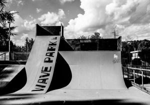 Skatepark a Mogliano: quanto è triste il degrado.