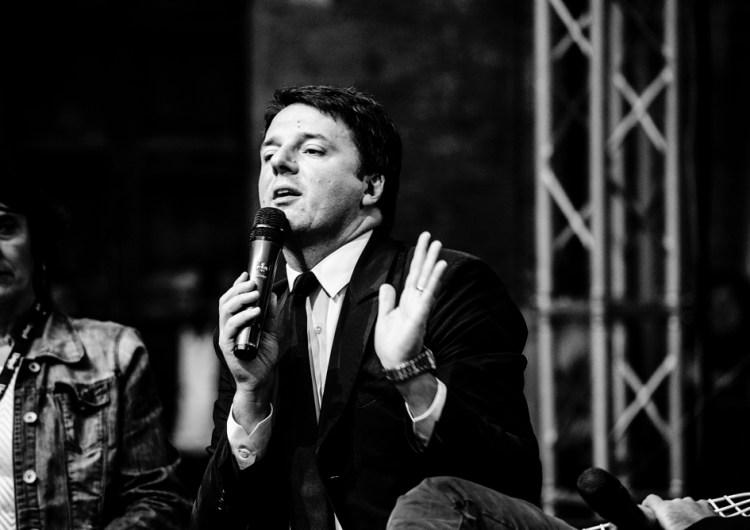 Internazionale: Matteo Renzi in 10 scatti