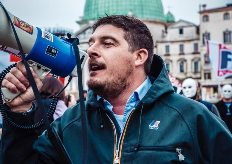 FORZA NUOVA PROTESTA A VENEZIA