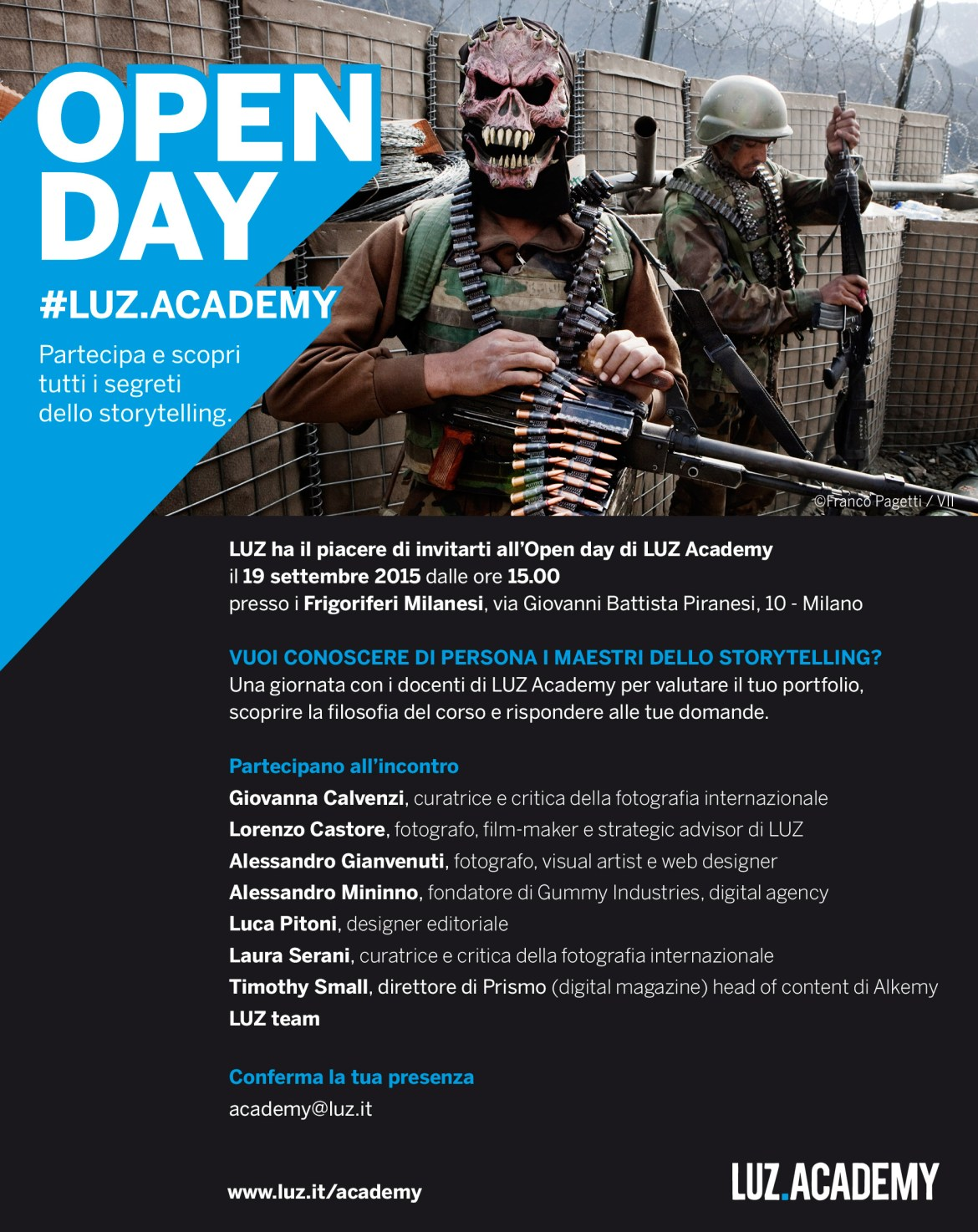 open day luz academy
