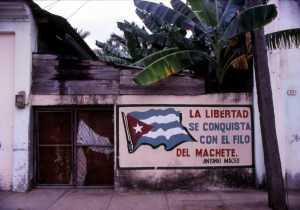 CUBA. Where are you going?