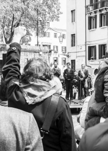 Il 25 aprile a Venezia: la Festa del tritatutto-Brugnaro.