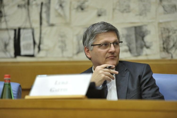 Il Vicepresidente della Commissione parlamentare Antimafia, Luigi Gaetti