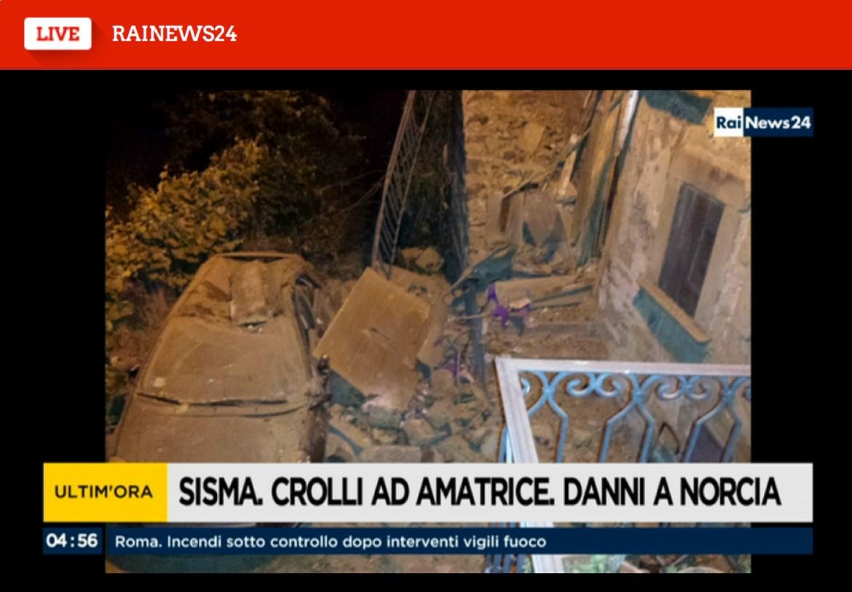 Immagini da Rai News24