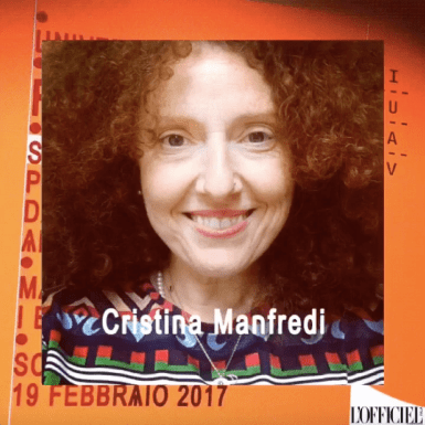 fashion media still Cristina Manfredi