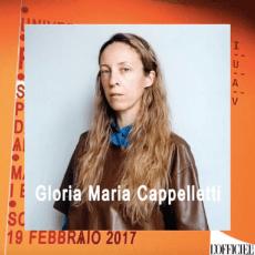 fashion media still Gloria Maria Cappelletti