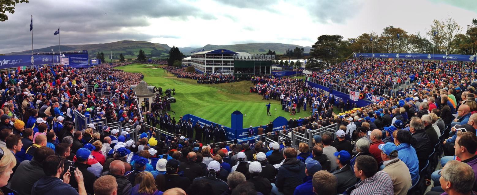 Folla alla the Ryder Cup 2014