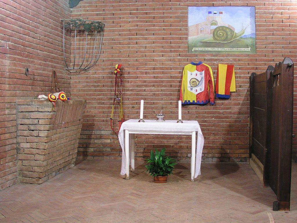 Altare contrada Siena