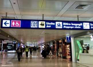 Leonardo da Vinci Fiumicino Airport Rome