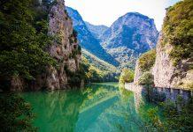 Furlo Gorges Panorama