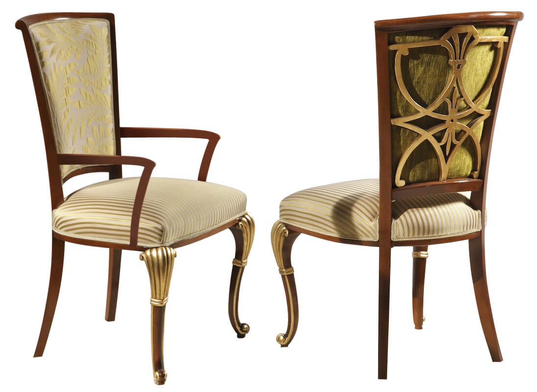 Italian Dining Chairs The Leonardo Dining Collection Side Chair Gv891 S