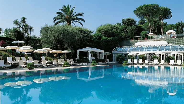 THE BEST LUXURY POOLS IN ROME  ITALY DELUXE