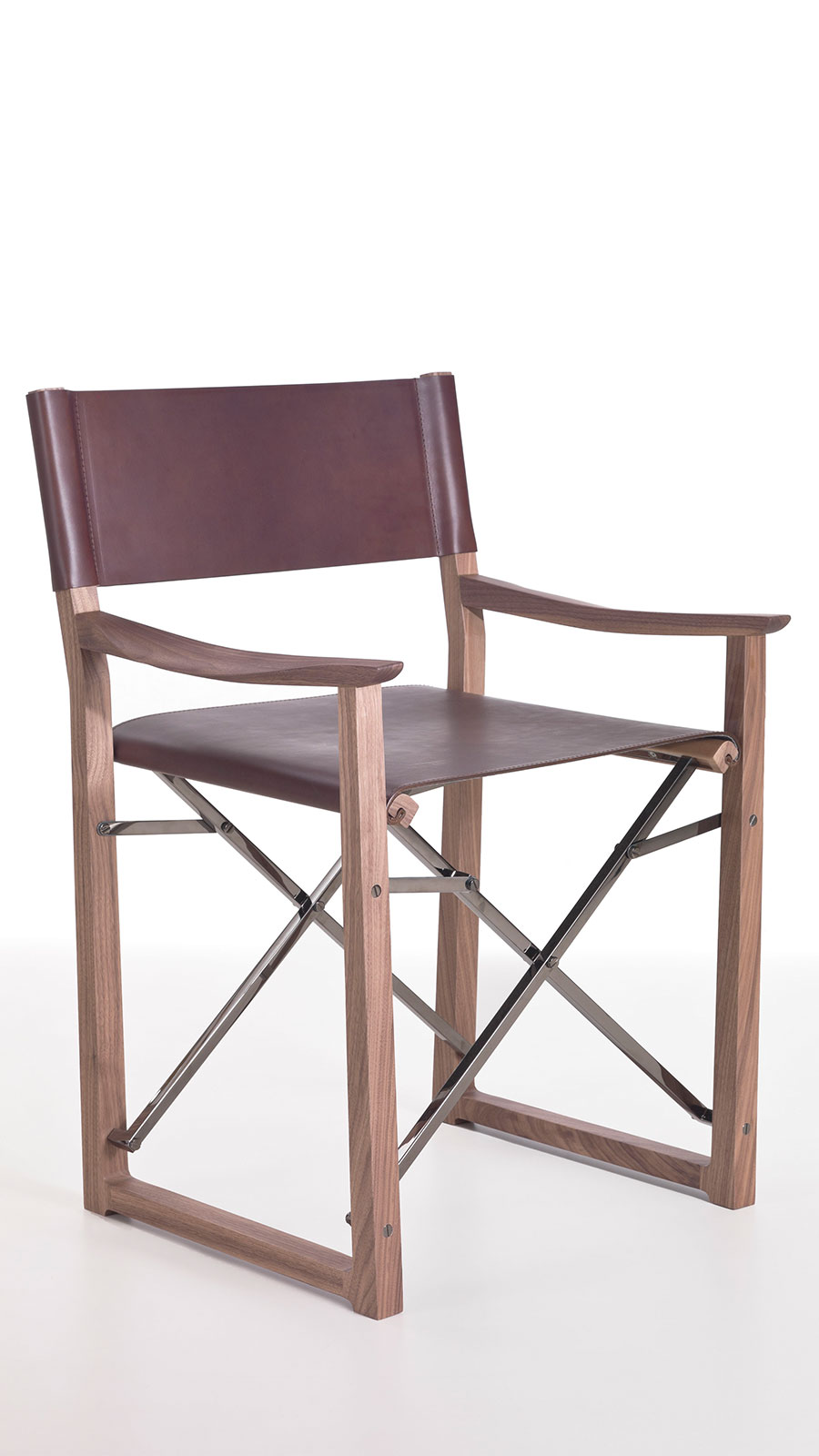 Folding Director Chair Clip Folding Director Chair In Leather