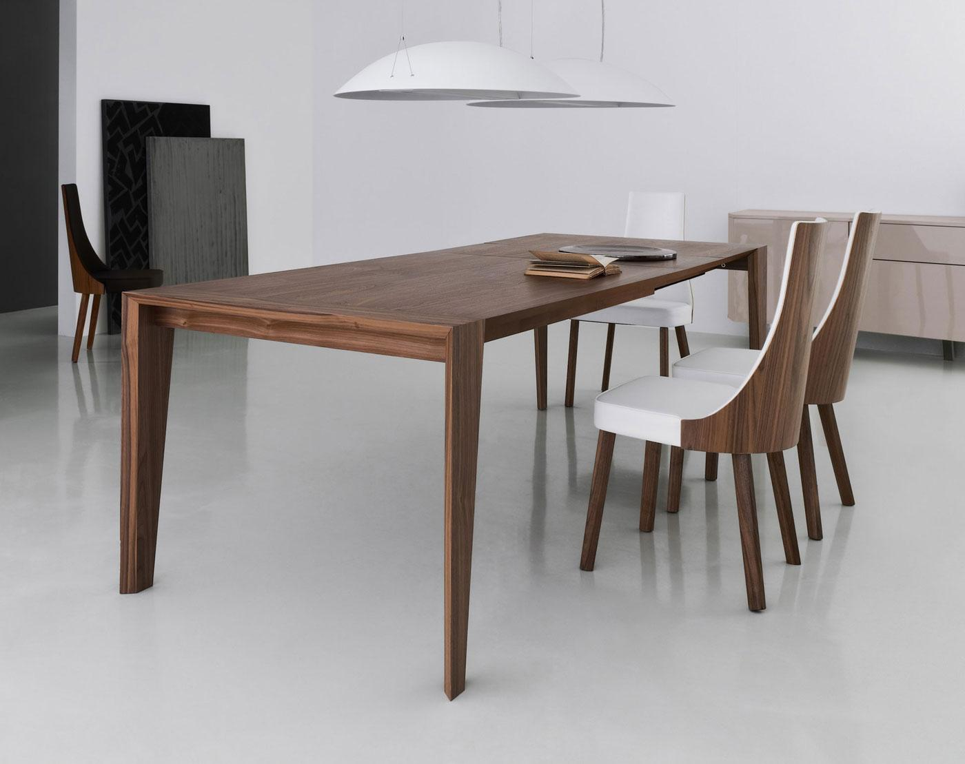 Table With Chairs Pulse 175 Wood Extensible Table