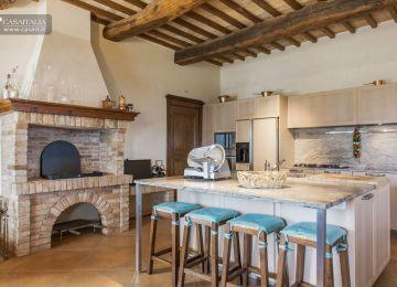 Cucina Con Caminetto | Soggiorno Con Camino
