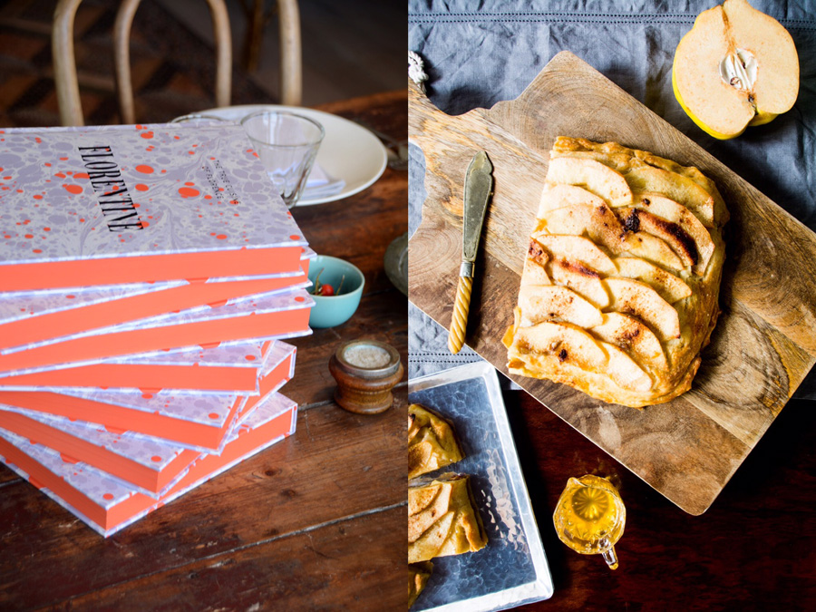 florentine and quince schiacciata-italy on my mind