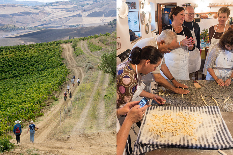 vines-cavatelli making-anna tasca lanza cooking school-italy on my mind
